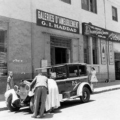 #Egypt , Cairo - Street Scene 1940