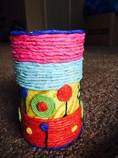 Home made vase