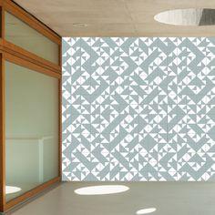 www.lurca.com.br/ // Lurca Azulejos - Coleção Modelo Laje Azul Claro // Lurca Tiles - Collection Laje Light Blue Model #azulejos #azulejosdecorados #revestimentos #arquitetura #interiores #decor #design #sala #reforma #decoracao #geometria #casa #ceramica #architecture #decoration #decorate #style #home #homedecor #tiles #ceramictiles #homemade