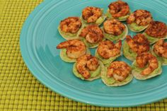 Mini Chipotle Shrimp Tostadas - My Chicken Fried Life