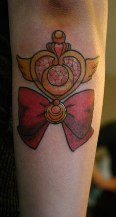 THIS IS MY TATTOO! :) Sailor Moon tattoo by Leah Williams, Ananda Art and Tattoo in Denver, CO (and on the road).