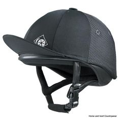 Charles Owen Helmet - A favourite for the cross country rider. This helmet is deep fitting and tailored to the rigours of competitive riding. Horse Riding Hats, Riding Helmets, Skull Cap Helmet, The Pony Club, Black 7, Black Silk, Matte Black, Equestrian Outfits, Equestrian Style