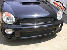 Subaru Impreza Wrx 2002 2003 Upper Mesh Grille Black Grillcraft SUB-1713B