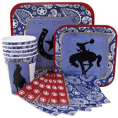 Western Rodeo Party Supplies
