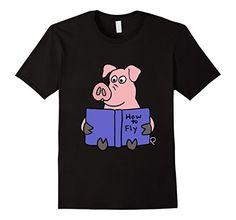 Men's Smiletodaytees Pig Reading How to Fly Book T-shirt ... https://www.amazon.com/dp/B01HKEQ78M/ref=cm_sw_r_pi_dp_YrYBxbEVF23CY