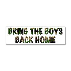 bring the boys back home