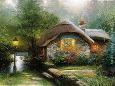 country memories by thomas kinkade - Google Search