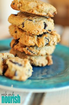 Soft Chocolate Chip Cookies, no sugar added.