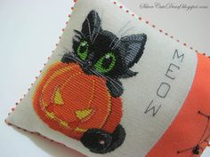check out this Pinner's board...angel has the cutest fall/autumn board I have seen!  Halloween cat