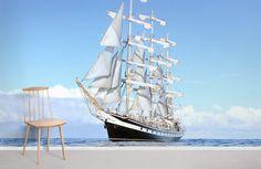 White Ship & Blue Sky - Heavy