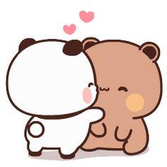 Hug Cartoon, Cute Bunny Cartoon, Cute Couple Cartoon, Cute Cartoon Pictures, Cute Love Pictures, Cute Love Gif, Cute Love Cartoons, Cute Cat Gif, Cute Images