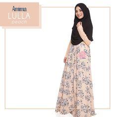 Gamis Amima Lulla Dress Peach - baju gamis wanita busana muslim Untukmu yg cantik syari dan trendy . . Size Chart (XS) LD 92 PB 135 (S) LD 96 PB 137 (M) LD 100 PB 139 (L) LD 104 PB 141 (XL) LD 112 PB 144 . . - Material bahan : crystal crepe hq printing for amima (dengan furing katun arrow lembut)  crepe polos Nyaman digunakan seharian bahannya jatuh dan flowy - Dress yang simpel cocok untuk daily - acara formal potongan bawah dada dengan warna soft pastel - Bagian badan dress polos bukaan…
