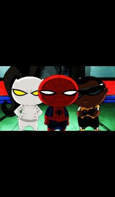 white tiger and spider man relationship