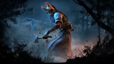 Dead by Daylight - Huntress Gaming Wallpaper
