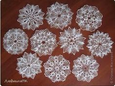Show-stopper Paper Snowflakes Patterns -