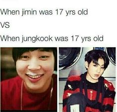 But still Jimin is my bae no matter what he looks like and Yes Jungkook was hot as fu** when he was 17 years old. But still Jimin is my bae no matter what he looks like and Yes Jungkook was hot as fu** when he was 17 years old. Bts E Got7, Jimin Jungkook, Bts Bangtan Boy, Bad Boy, Bts Memes Hilarious, Little Bit, About Bts, Bts Pictures, Jikook