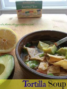 Tortilla Soup using Bigelow Tea #AmericasTea #cbias #shop