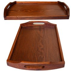 45*27*4 CM Wood Tray Rectangle Bread Fruit Tray With Handhold Solid Hotel Service Tray Tea Tray Tableware Tea Set