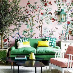 Rose Garden - 20 Pink Rooms We LOVE - Photos