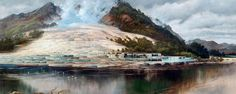 Two researchers think they& found evidence that the Pink and White Terraces at Lake Rotomahana in New Zealand survived an 1886 volcanic eruption. Auckland Art Gallery, New Zealand Art, Natural Wonders, Terrazzo, Beautiful World, Old Photos, Wonders Of The World, Places To Visit, Marvel