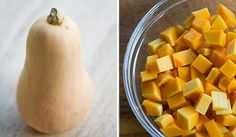 How to Peel and Cut a Butternut Squash on Simply Recipes