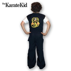 Cobra Kai Kid Costume now available from http://www.karatemart.com