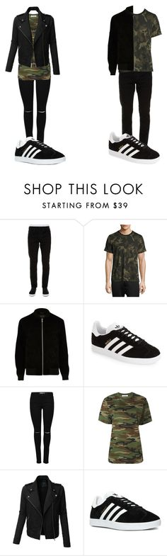 """couples matching outfits"" by vintagegirl1982 on Polyvore featuring Off-White, rag & bone, River Island, adidas, Alyx, LE3NO, ootd, couples and relationshipgoals"