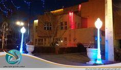 پایه چراغ و تیر نورانی برای نورپردازی پارک و خیابان شهری