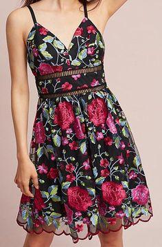Tribeca Embroidered Dress
