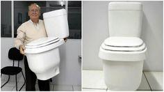 Vaso sanitário economiza até 70% de água O vaso sanitário está disponível para venda através do site da Acquamatic, sendo o preço sugerido R$496, com instalação.