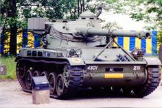 Dutch Light Recon Tank, armed with a gun in an oscillating turret Army Vehicles, Armored Vehicles, Battle Tank, Cold War, Warfare, Techno, Dutch, Weapons, Armour