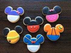 Mickey Mouse Clubhouse Cookies on Cake Central