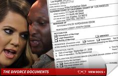 www.concierge4divorce.com- Khloe Kardashian Files Divorce Docs
