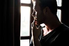 #thinking#men#menstyle#Model#window#body