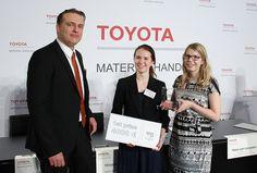 Nea Kosonen and Elisa Määttänen's Tow Tractor, Bubo, Wins the Toyota Logistic Design Competition 2014   by Toyota Material Handling EU
