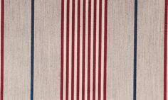 Striped fabric from British company Ian Mankin @Stylebeat Marisa Marcantonio Marisa Marcantonio loves