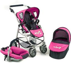 $59.99-$59.99 Baby Twin Doll Pram Back to Back with ...