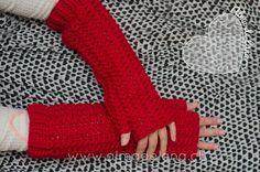 #guantes largos #handmade #almadelana