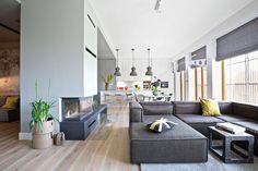 Dizajnerskie lampy włoskiej firmy Flos, industrialne, betonowe od holenderskiej It's about RoMI albo metalowe klosze HK Living.