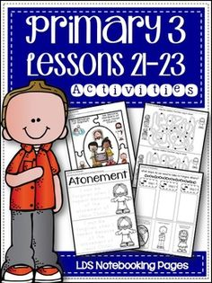 Primary 3 - Lessons 21-23