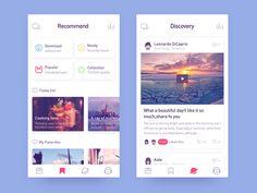 app-radio2 by Rwds #Design Popular #Dribbble #shots