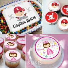 Decoración fácil de tartas y cupcakes