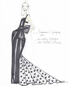 Prabal Gurung whips up Lady Gaga's #VMAs dress in forty-eight hours.