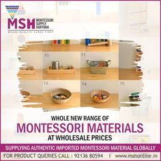 Montessori Supply Haryana ---------------------------------------------------------------------- Come & visit www.in to explore whole new range of or call : 92136 80594 Teaching Aids, Montessori Materials, Range, Explore, Home Decor, Cookers, Decoration Home, Room Decor, Home Interior Design