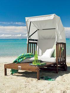 modern beach chair (Strandkorb)