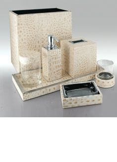"""Luxury Bathroom Sets"" ""Designer Bathroom Sets"" By InStyle-Decor.com Hollywood, for more beautiful ""Luxury Bathroom"" inspirations use our site search box entering term ""Bathroom"" bathroom sets, bathroom accessories, bathroom design, bathroom ideas, bathroom vanities, luxury interiors, luxury interior design, hotel interior design, hospitality interior design, yacht interior design, residential interior design, luxury living rooms, bedrooms, bathrooms, furniture, lighting, luxury homes,"