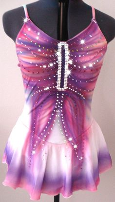 Custom Figure Skating Dress by SkatingDressesByKim on Etsy