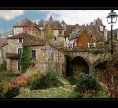 Carennac. Un des plus beaux villages de France. Vallée de la Dordogne