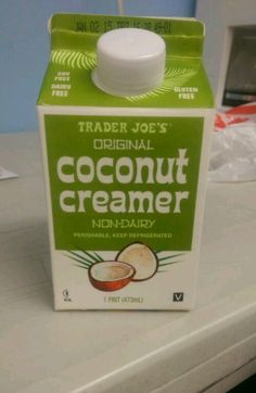 Don't think it's going to taste like coconut, it does not  it's a plain coconut milk creamer. So good, my favorite creamer so far.