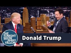 The Tonight Show Starring Jimmy Fallon: Donald Trump Returns for Another Mock Job Interview for President